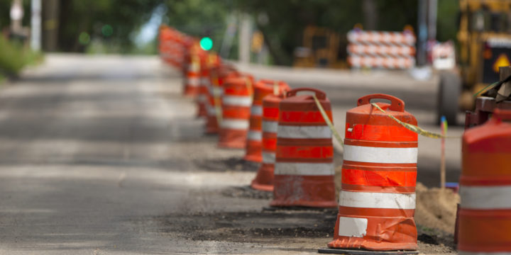 Injury Risks in a Road Work Zone
